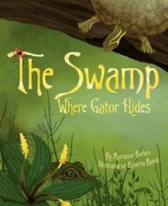 Swamp where the gator hides